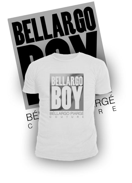 """Bellargo Boy"" Metallic Crew Neck T-shirt (MORE COLORS AVAILABLE) - Bellargo Piarge"