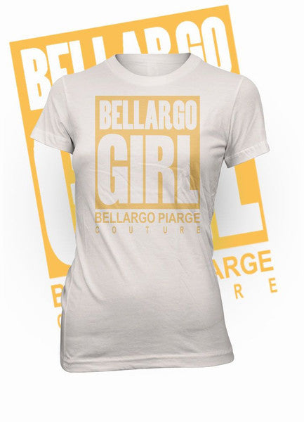 """Bellargo Girl"" Metallic Crew Neck T-Shirt (MORE COLORS AVAILABLE) - Bellargo Piarge"