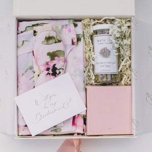 Bridesmaid Box | Floral dreams