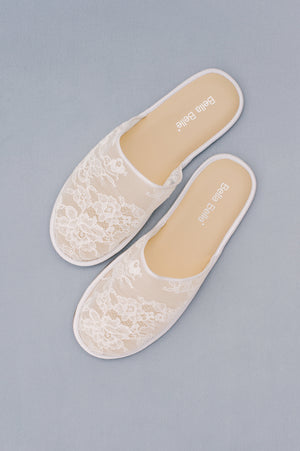 Boudoir | Lace Slippers