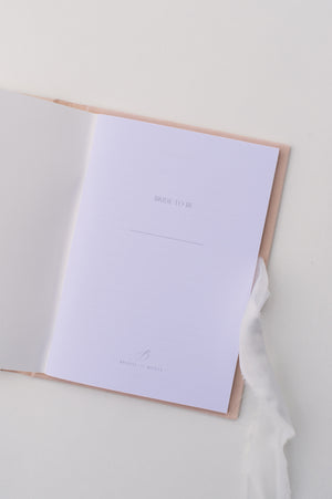 Note book | Velvet Coquillage