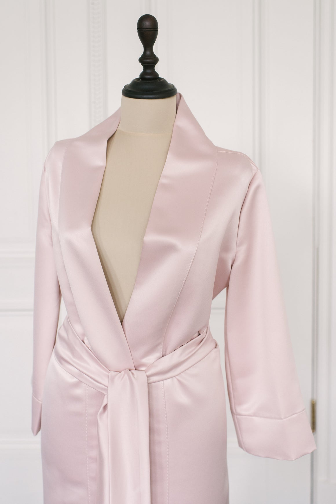 Robe Satin | Blush