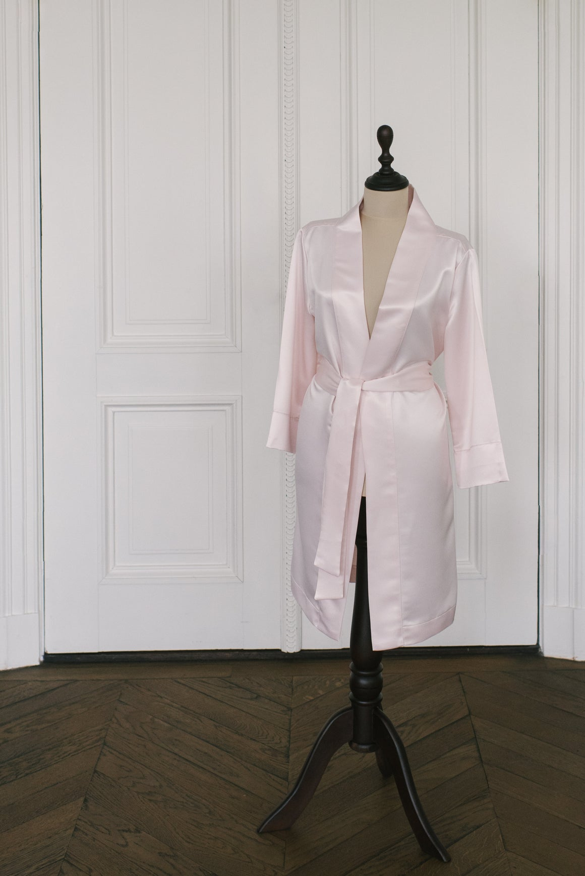 Robe Satin | Light blush