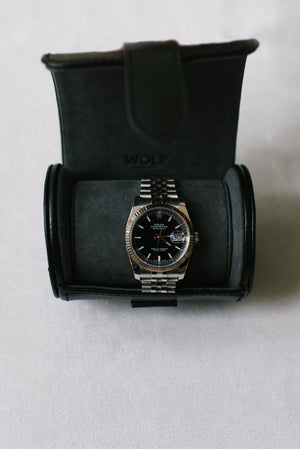 Single Watch Roll Black/Grey