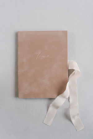 Vows book | Velvet Coquillage