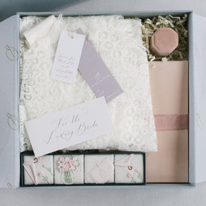 Bridal lxry box | Leah