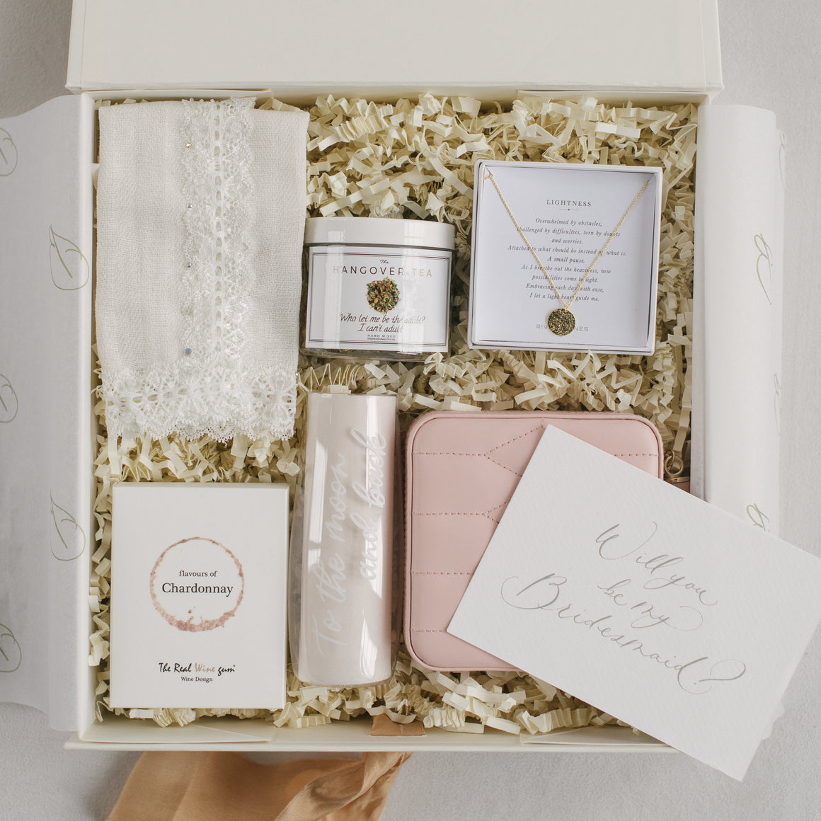 Bridesmaid Box | Happy tears