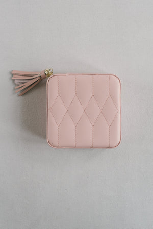 Jewelry Travel Case Caroline | Pink