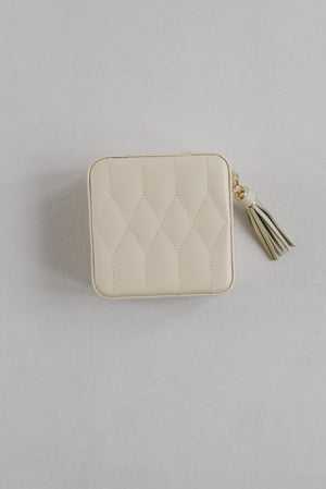 Jewelry Travel Case Caroline | Ivory