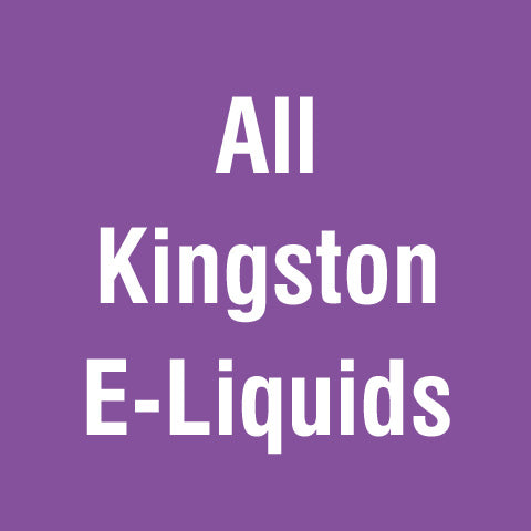 All Kingston E-Liquids