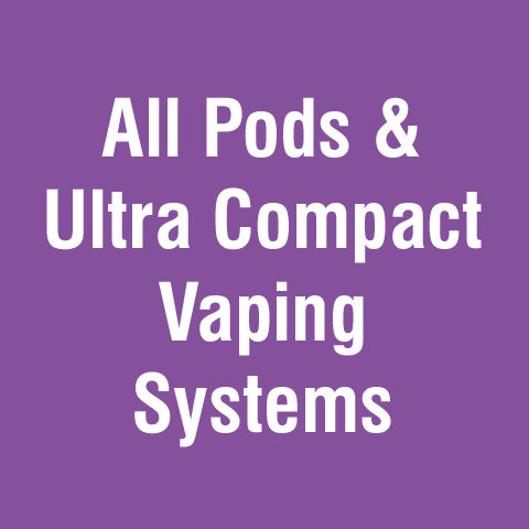 Alle Pods & Ultra Compact Vaping Systeme