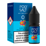 Pod Salt Fusions Bubble Blue Nic Salt