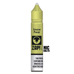Zap! Snow Pear Nic Salt
