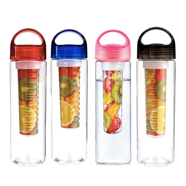 Large Capacity Fruit Infused Water Bottle