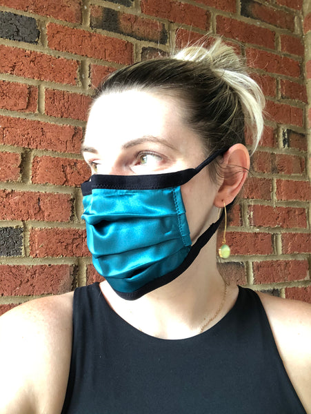 Dark Teal Mask  - M/L