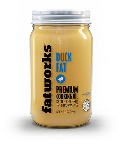 Cage Free Duck Fat (14 oz)