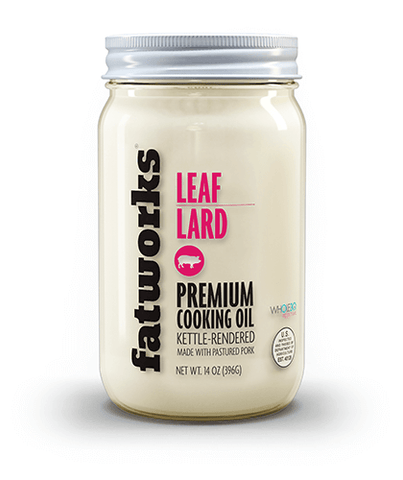 Pasture Raised Leaf Lard (14 oz)