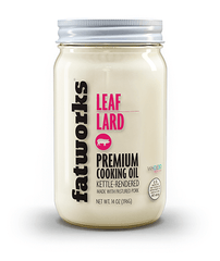 Pasture Raised Leaf Lard (14 oz) - Fatworks: The Defenders of Fat!