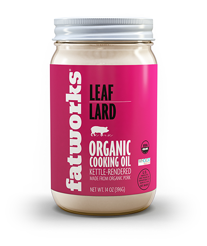 Organic Leaf Lard (14 oz) - Fatworks