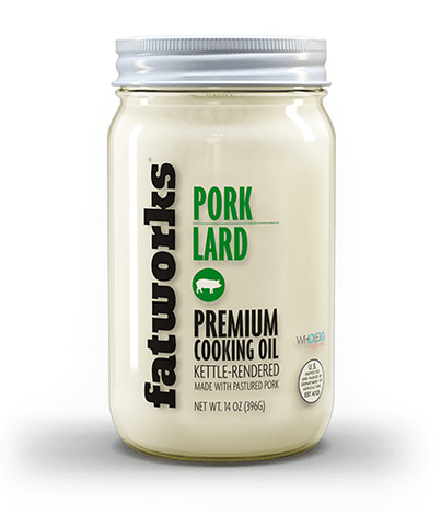 Pasture Raised Pork Lard (14 oz)