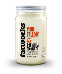 Grass Fed Beef Tallow (14 oz) - Fatworks