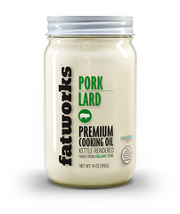 Organic Pork Lard (14 oz) - Fatworks