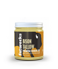 Grass Fed Bison Tallow a.k.a. Thunderfat (7.5 oz) - Fatworks: The Defenders of Fat!