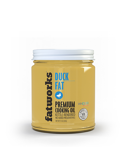 Cage Free All Natural Duck Fat (7.5 oz) - Fatworks