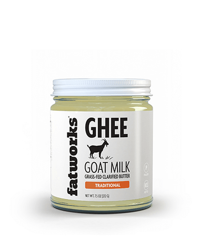 Grass Fed Goat Milk Ghee (7.5 oz)