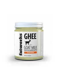 Grass Fed Goat Milk Ghee (7.5 oz) - Fatworks: The Defenders of Fat!