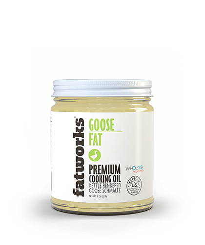 Pasture Raised Goose Fat (7.5 oz) - Fatworks
