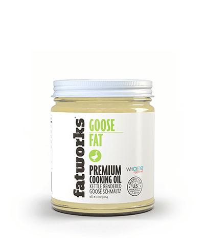 Pasture Raised Goose Fat (7.5 oz)