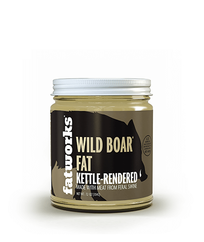 Wild Boar Lard (7.5 oz) - Fatworks: The Defenders of Fat!