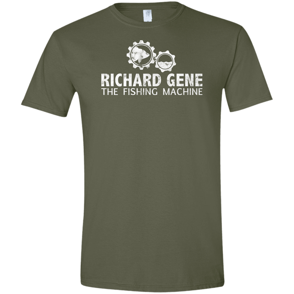 Richard Gene the Fishing Machine T-Shirt