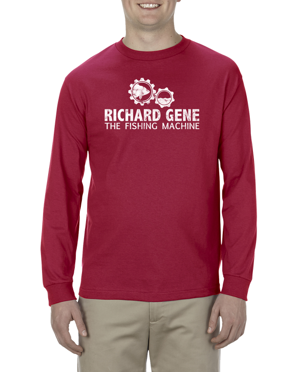 Richard Gene the Fishing Machine - Long Sleeve