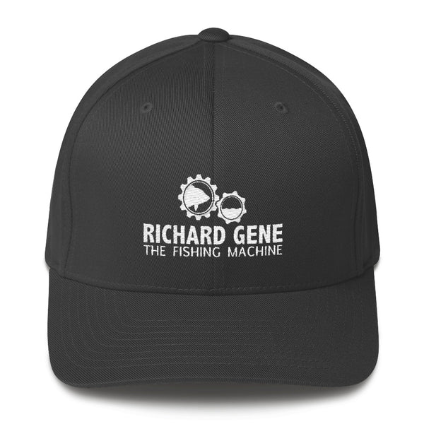 Fishing Machine Hat - Twill with Velcro Closure