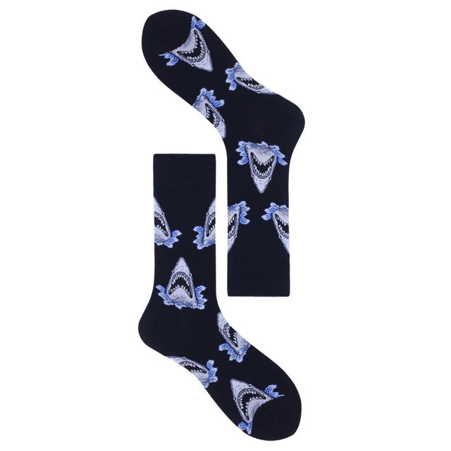 a-b-kicks - Men's Animal Pattern Socks - a.b. kicks -