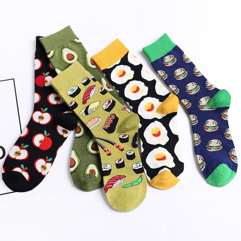 a-b-kicks - The Foody Socks - a.b. kicks -