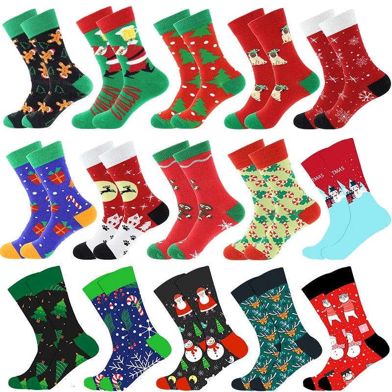 a-b-kicks - Men's Crazy Socks Christmas Edition - a.b. kicks -