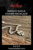 Navajo Eagle Necklace