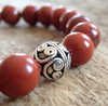 Men's Sterling Silver Mala Bracelet - 10mm - TesoroDelSol