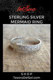 Sterling Silver Mermaid Ring