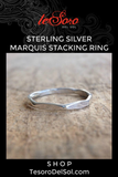 Boho Luxe Marquis Diamond Ring