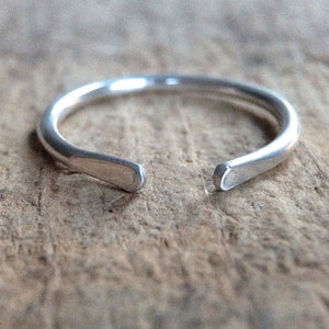 Sterling Silver Cuff Ring