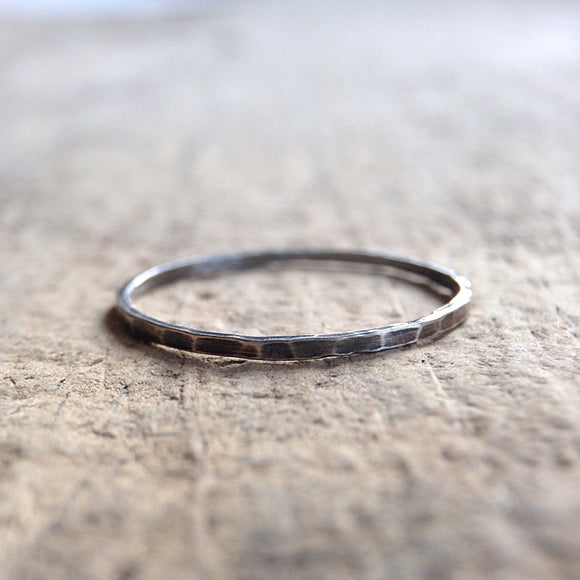 One Antique Sterling Silver Ring