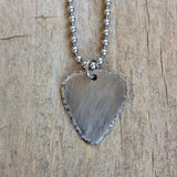 Men's Rustic Guitar Pick Chain Necklace