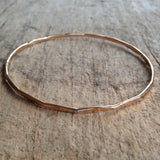 Gold Diamond Marquise Bangle - TesoroDelSol