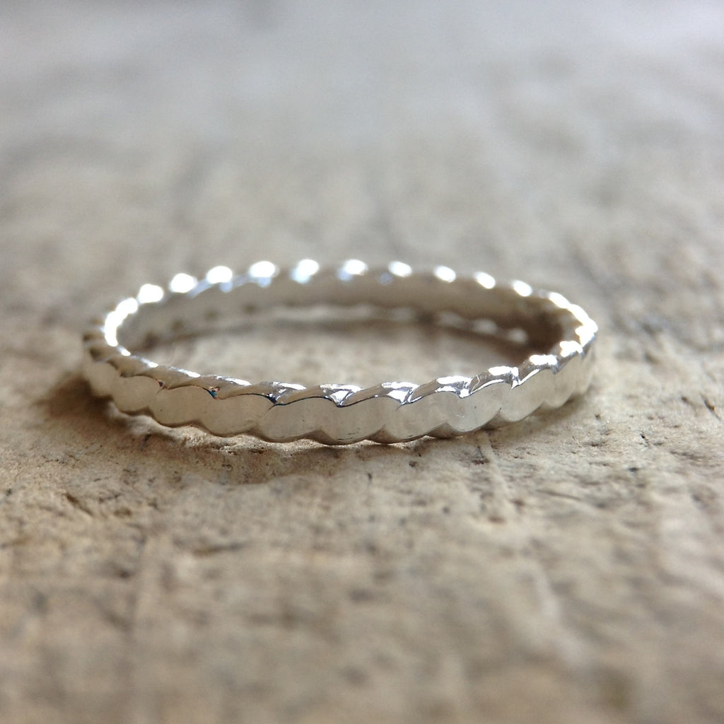Flat Twist Filigree Ring - TesoroDelSol