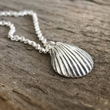 Sterling Silver Seashell Necklace
