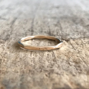 Gold Marquis Stacking Ring